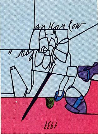 Serigrafía Adami - Jean Harlow