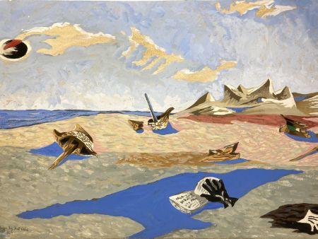 Sin Técnico Lurcat - Jean Lurçat(1892-1966). Apocalypse des Mal-assis N°4. Gouache