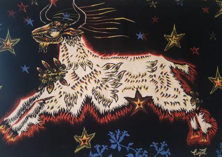 Múltiple Lurcat - Jean Lurçat (1892-1966). D'étoiles. Tapisserie. Signée et numérotée.