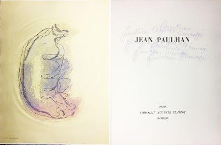 Libro Ilustrado Fautrier - Jean Paulhan : FAUTRIER L'ENRAGÉ (1949)