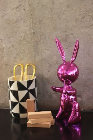 Sin Técnico Koons - Jeff Koons (After) - Balloon Rabbit PINK