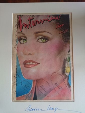 Offset Warhol - Jessica Lange