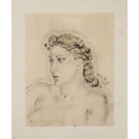 Múltiple Foujita - Jeune femme blonde ,1931
