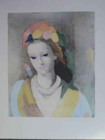 Aguatinta Laurencin - Jeune fille