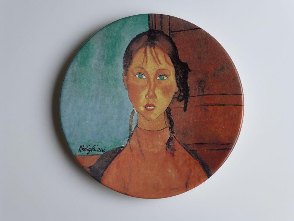 Sin Técnico Modigliani - Jeune fille aux yeux verts