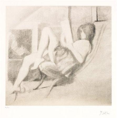Litografía Balthus - Jeune fille lisant