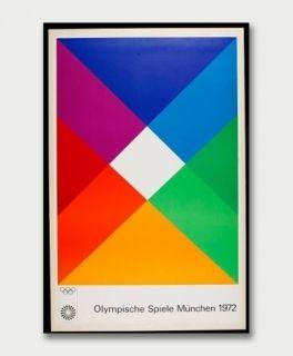 Serigrafía Bill - Jeux Olympiques de Munich 1972