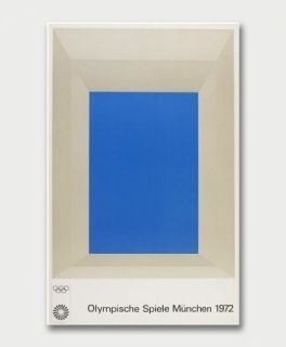 Serigrafía Albers - Jeux Olympiques De Munich 1972