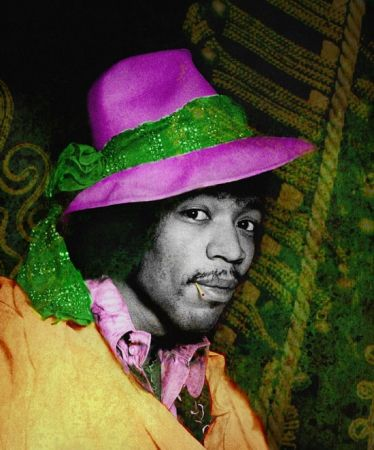 Fotografía Mankowitz - Jimi with Hat