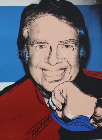 Serigrafía Warhol - Jimmy Carter II (FS II.151)