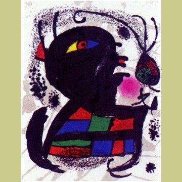 Libro Ilustrado Miró - Joan Miró Lithographs.  Catalogue Raisonné