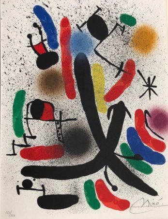 Litografía Miró - Joan Miró Litografo I