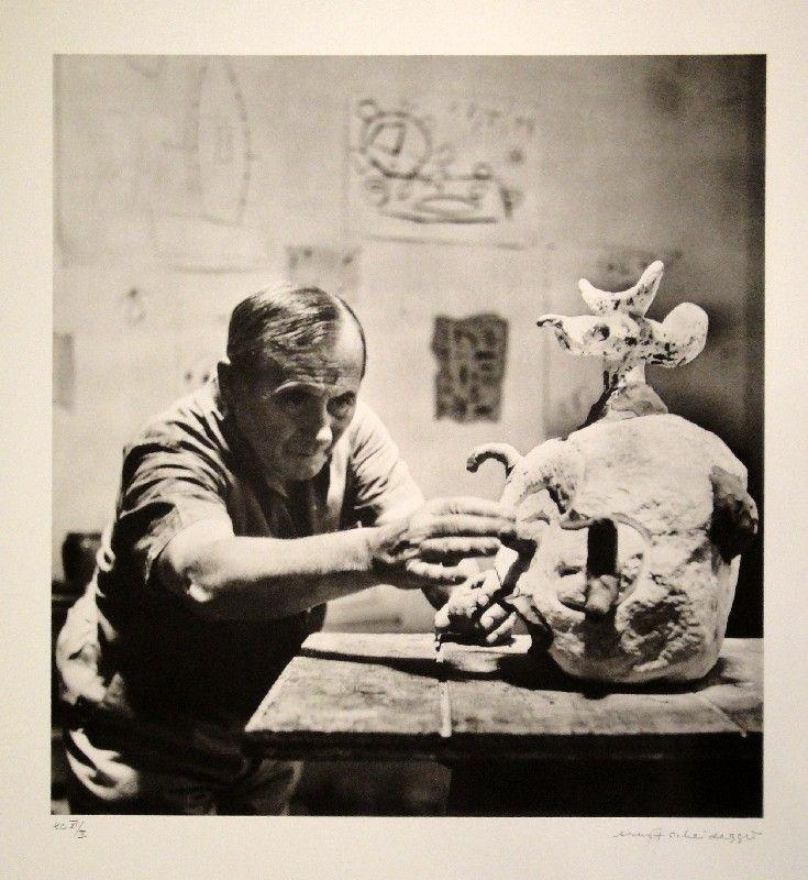 Fotografía Scheidegger - Joan Miro
