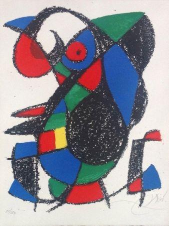 Litografía Miró - Joan Miro Original lithograph, Pencil Signed & numbered 51 / 150