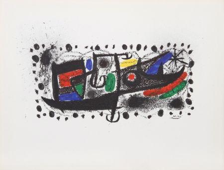 Litografía Miró - Joan Miro und Katalonien