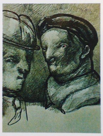 Litografía Cuevas - Joan Prats 1982