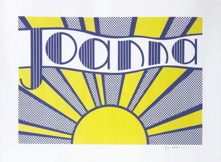 Offset Lichtenstein - Joanna (C. Iii.24)