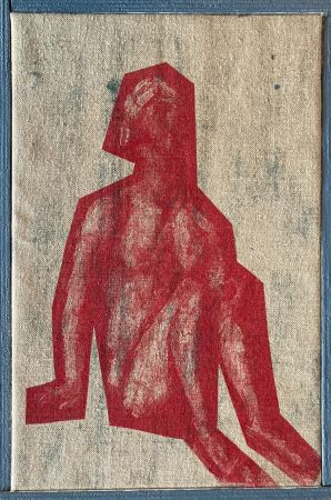 Serigrafía Buraglio - Job, avec Cézanne, 2006