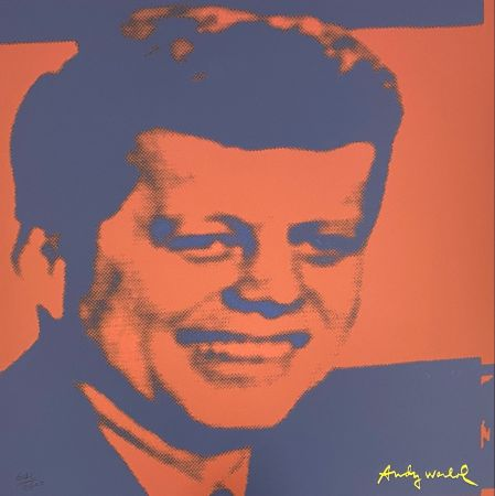 Offset Warhol - John F. Kennedy