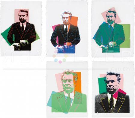 Serigrafía Warhol -  John Gotti Complete Portfolio By Andy Warhol