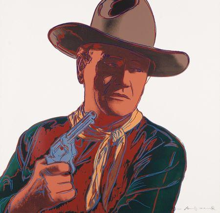 Serigrafía Warhol - John Wayne