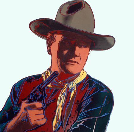 Serigrafía Warhol - John Wayne [Unique] (FS II.377)