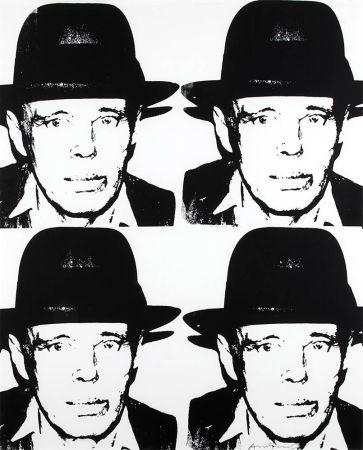 Serigrafía Warhol - Joseph Beuys