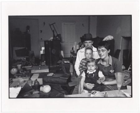 Múltiple Freed  - Joseph Beuys and his Family in his Home in Oberkassel