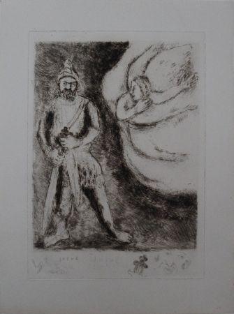 Grabado Chagall - Josué armé par l'éternel #RARE SECOND STATE