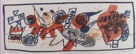 Litografía Corneille - Journee feerique