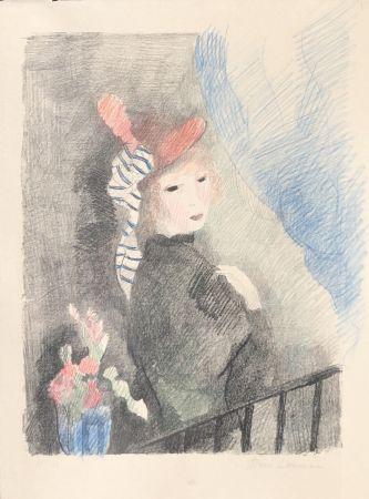 Litografía Laurencin - Juliette