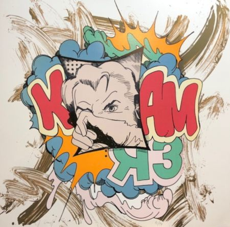 Serigrafía Crash - K Bam