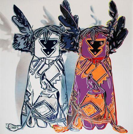 Serigrafía Warhol - Kachina Dolls (FS II.381)