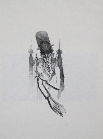Grabado Ponç - Kafka 7