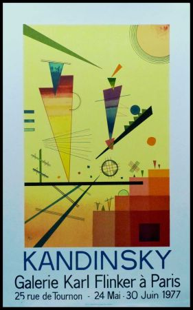 Litografía Kandinsky - KANDINSKY GALERIE Karl FLINKER, PARIS