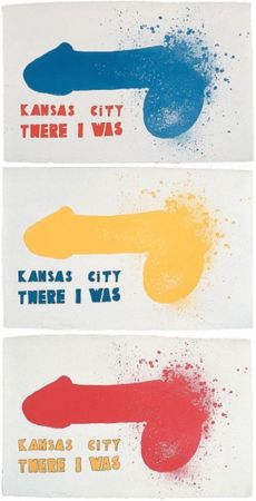 Litografía Dine - Kansas City (3 sheets)
