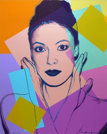 Serigrafía Warhol -  Karen Kain (FS II.236)