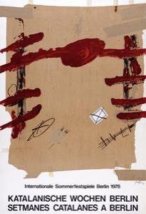 Cartel Tàpies -