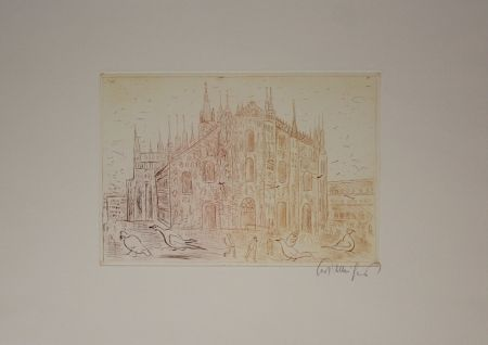 Grabado Mühlenhaupt - Kathedrale