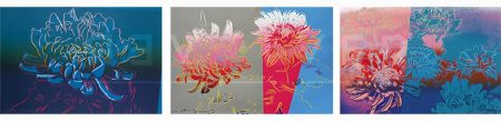 Serigrafía Warhol - Kiku Completeportfolio (Fs Ii.307-309)