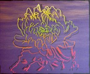 Serigrafía Warhol - Kiku Flower (FS.II.307)