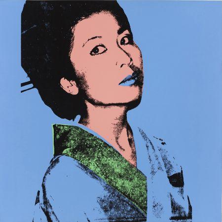 Serigrafía Warhol - KIMIKO FS II.237