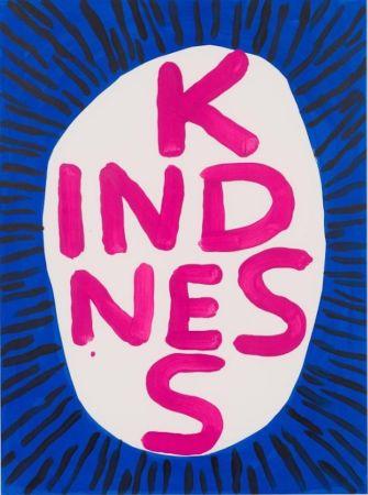 Serigrafía Shrigley - Kindness