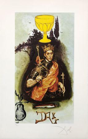 Litografía Dali - KING OF CUPS