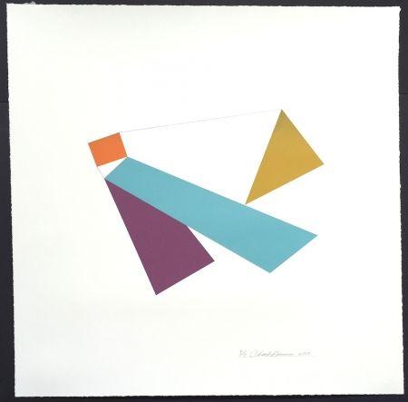 Serigrafía Hinman - Kite, from Kites Suite