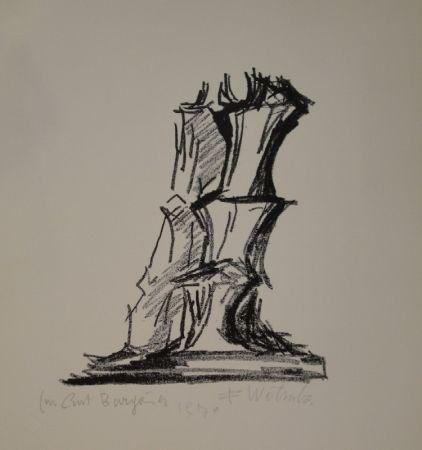 Litografía Wotruba - Komposition