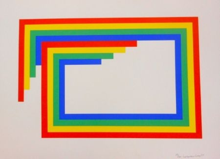 Serigrafía Loewensberg - Komposition
