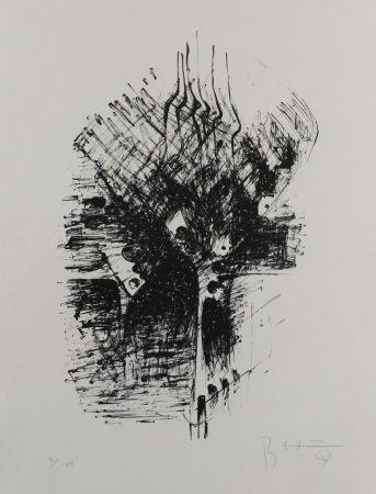Litografía Heiliger - Komposition III