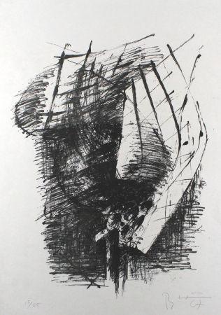 Litografía Heiliger - Komposition V