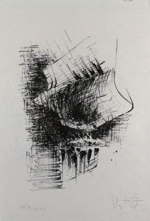Litografía Heiliger - Komposition VI